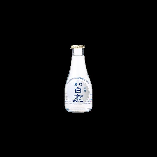 特撰 黒松白鹿 本醸造 四段仕込 プリント瓶